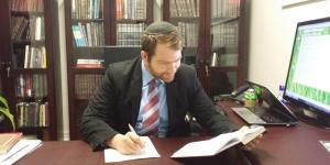 Rabbi's Desk