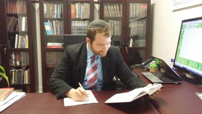 Rabbi's Desk Medium